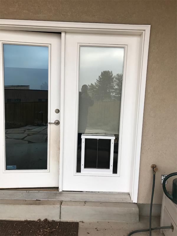Utah Pet Access Dog Door Installation In